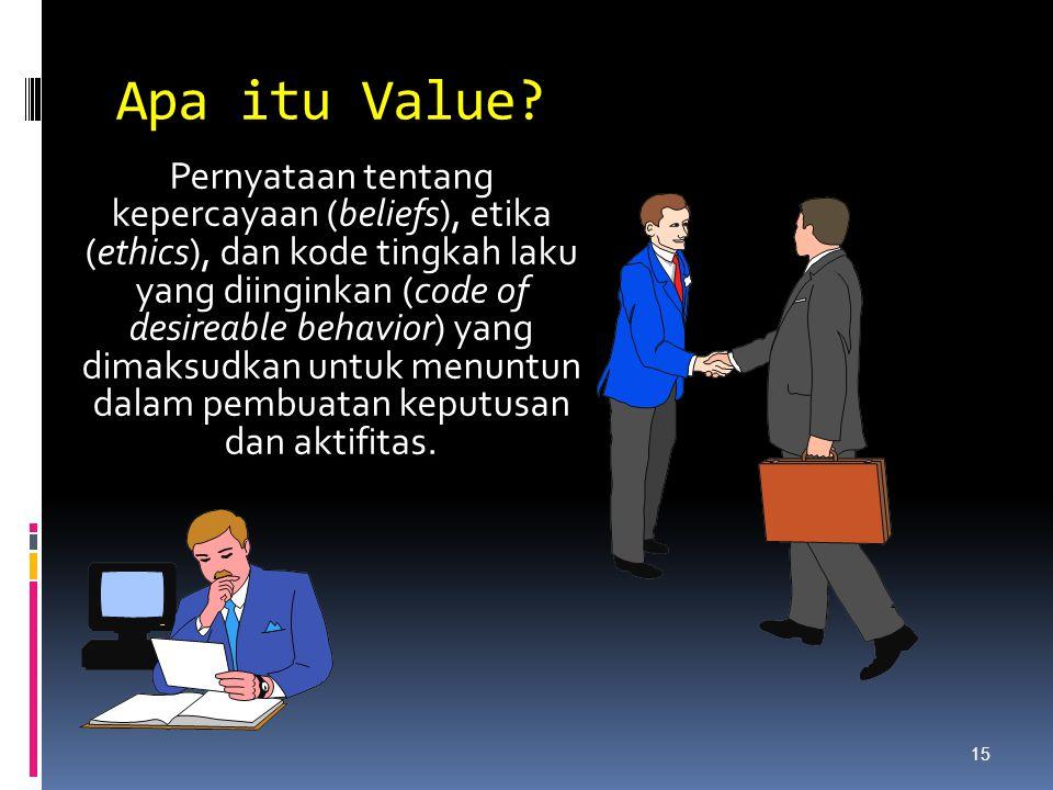 Apa itu Value