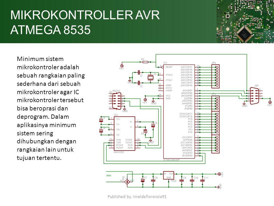 MIKROKONTROLLER AVR ATMEGA 8535