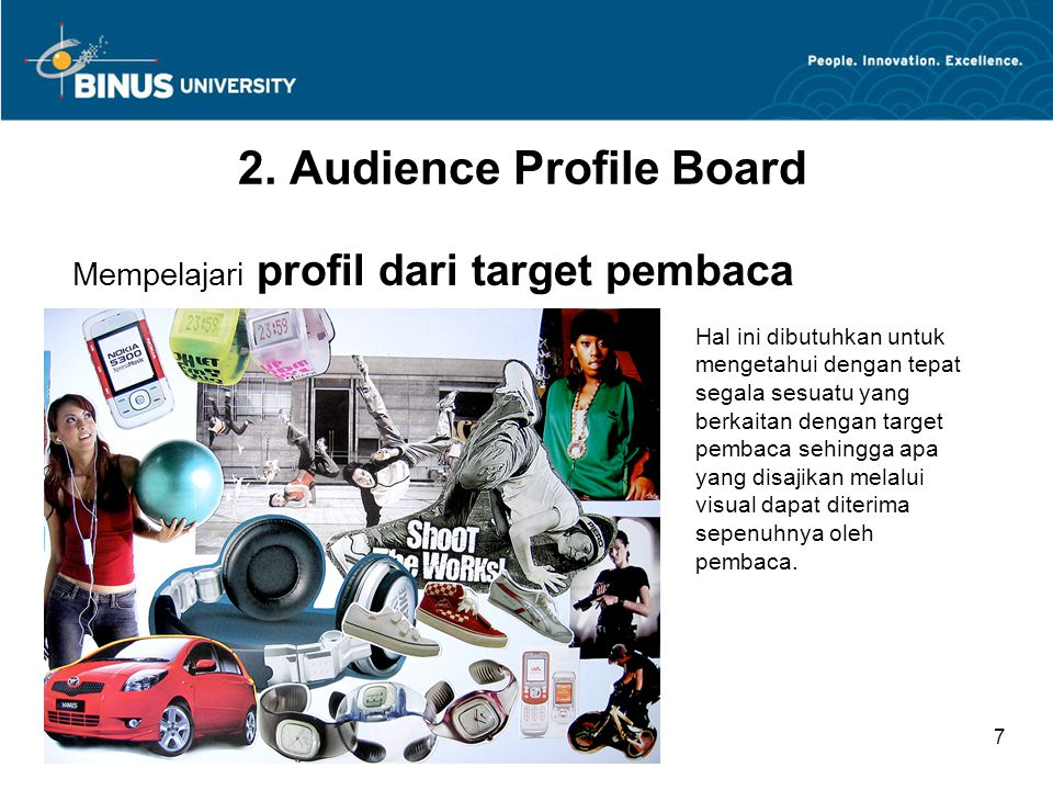 2. Audience Profile Board