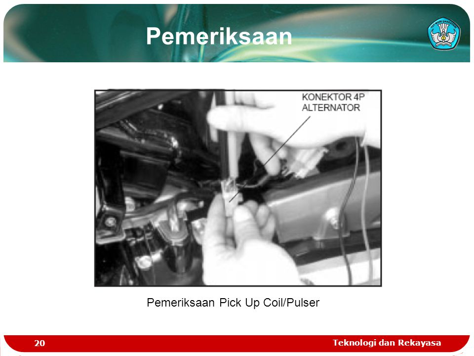 Pemeriksaan Pick Up Coil/Pulser