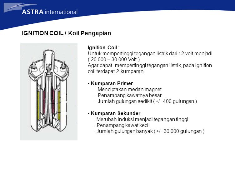 IGNITION COIL / Koil Pengapian