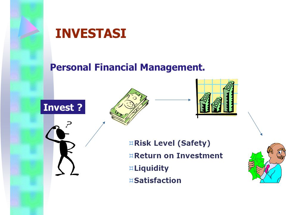 INVESTASI Personal Financial Management. Invest Risk Level (Safety)