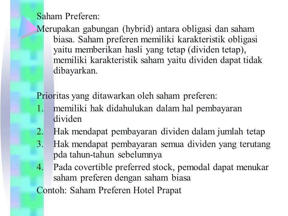 Saham Preferen: