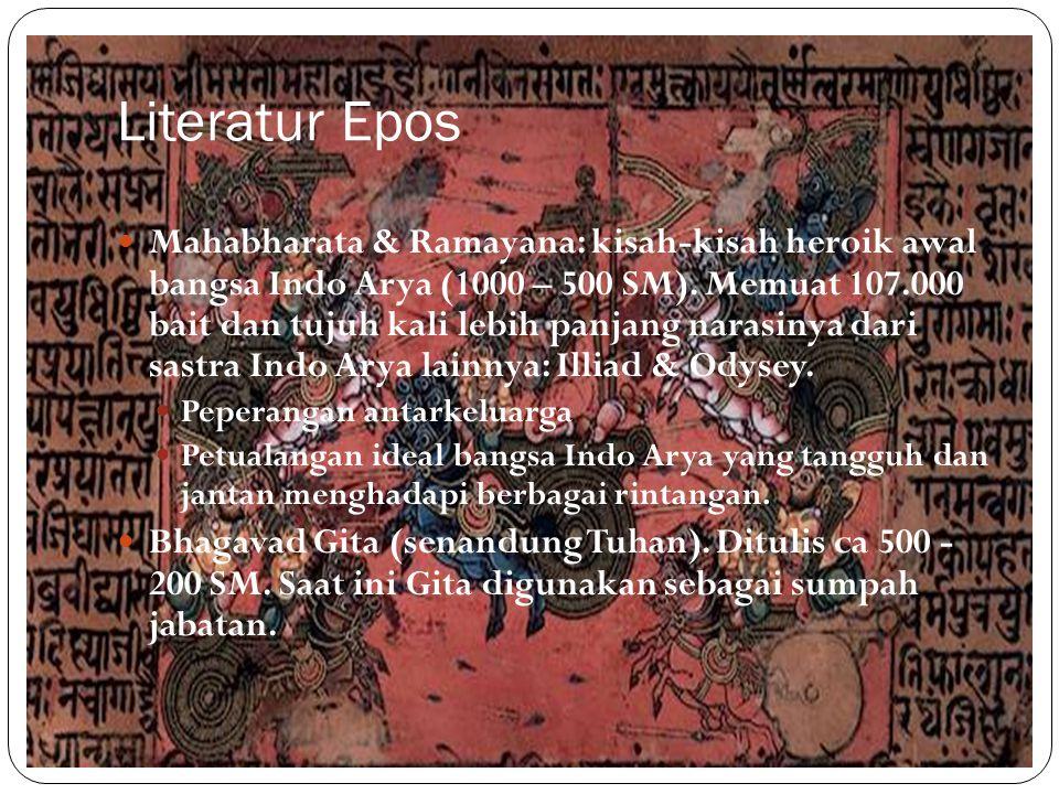 Literatur Epos