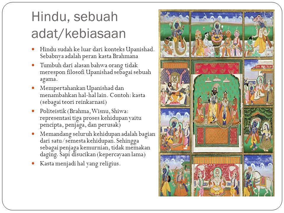 Hindu, sebuah adat/kebiasaan