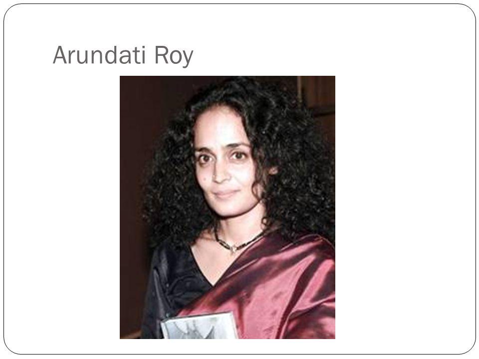 Arundati Roy