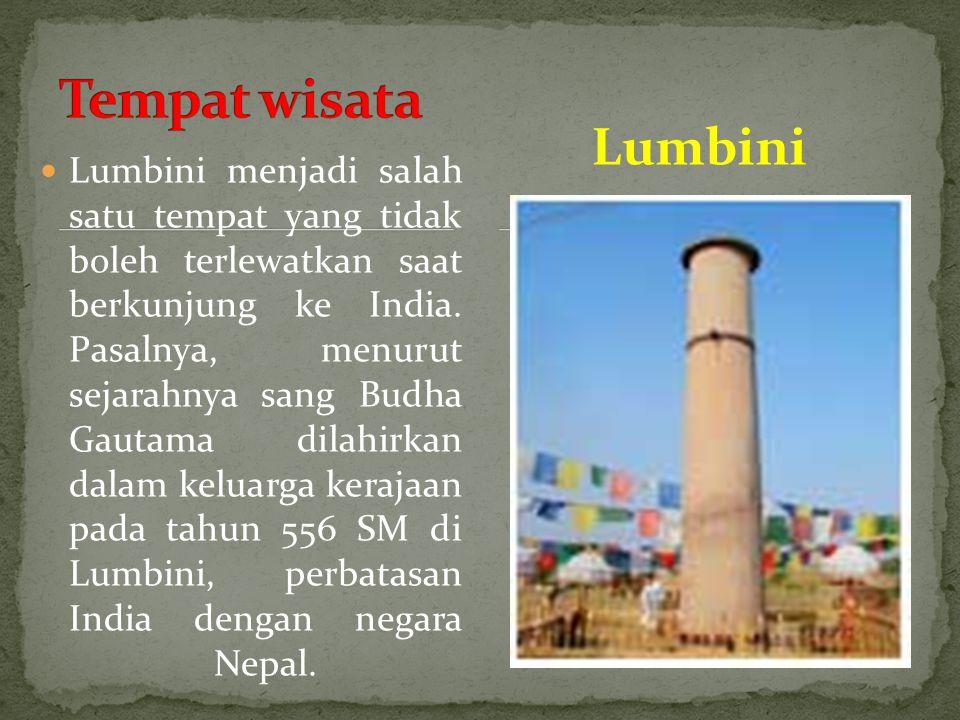 Tempat wisata Lumbini.