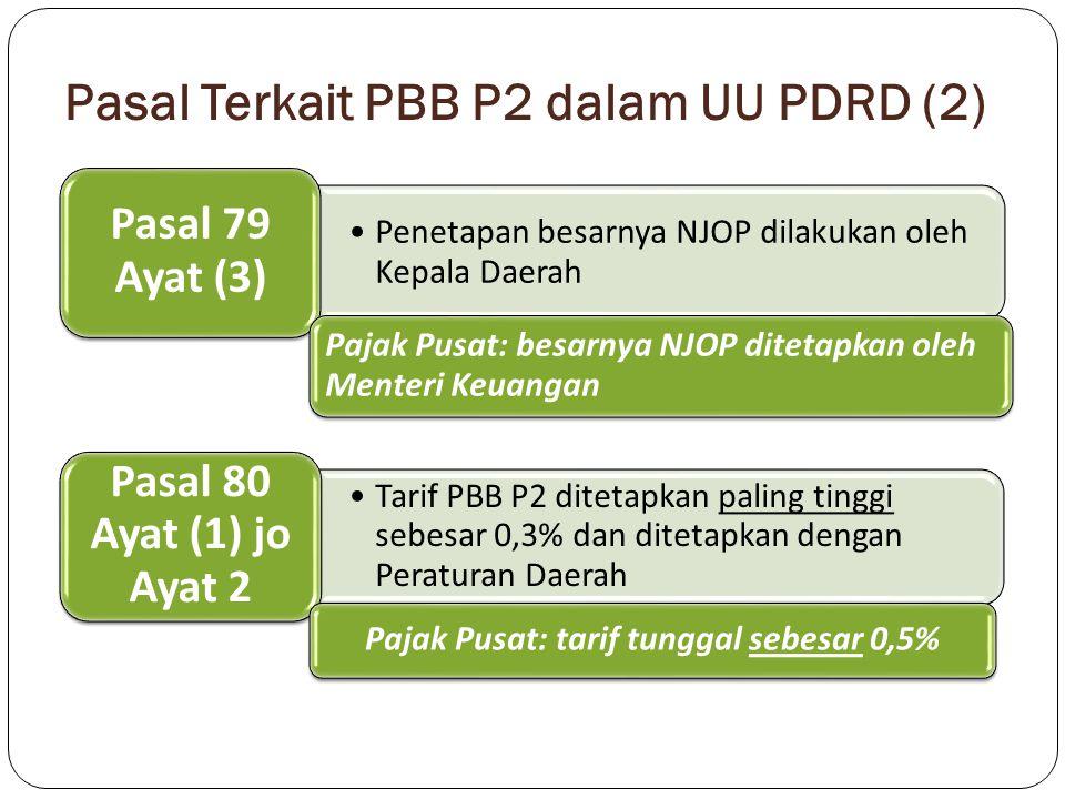 Pasal Terkait PBB P2 dalam UU PDRD (2)