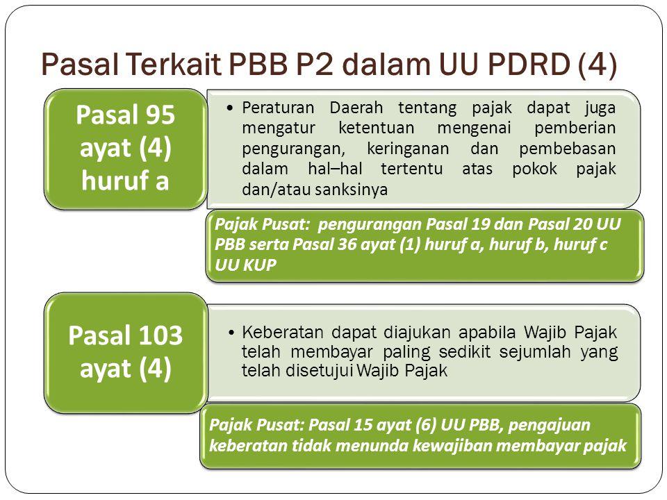 Pasal Terkait PBB P2 dalam UU PDRD (4)