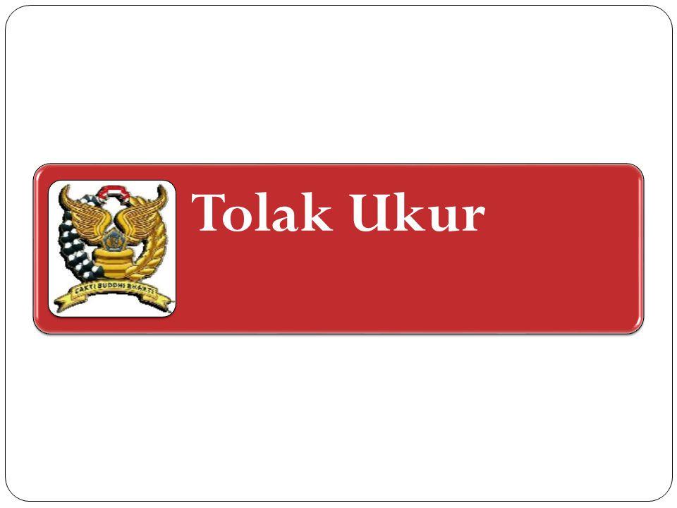 Tolak Ukur