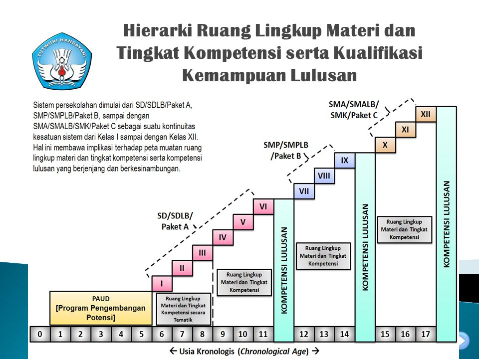 Hierarki Ruang Lingkup Materi dan Tingkat Kompetensi serta Kualifikasi Kemampuan Lulusan