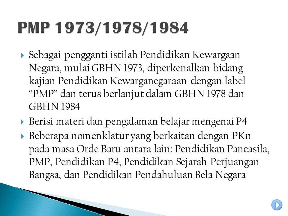 PMP 1973/1978/1984