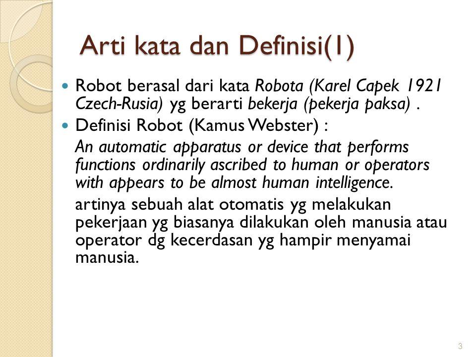 Arti kata dan Definisi(1)