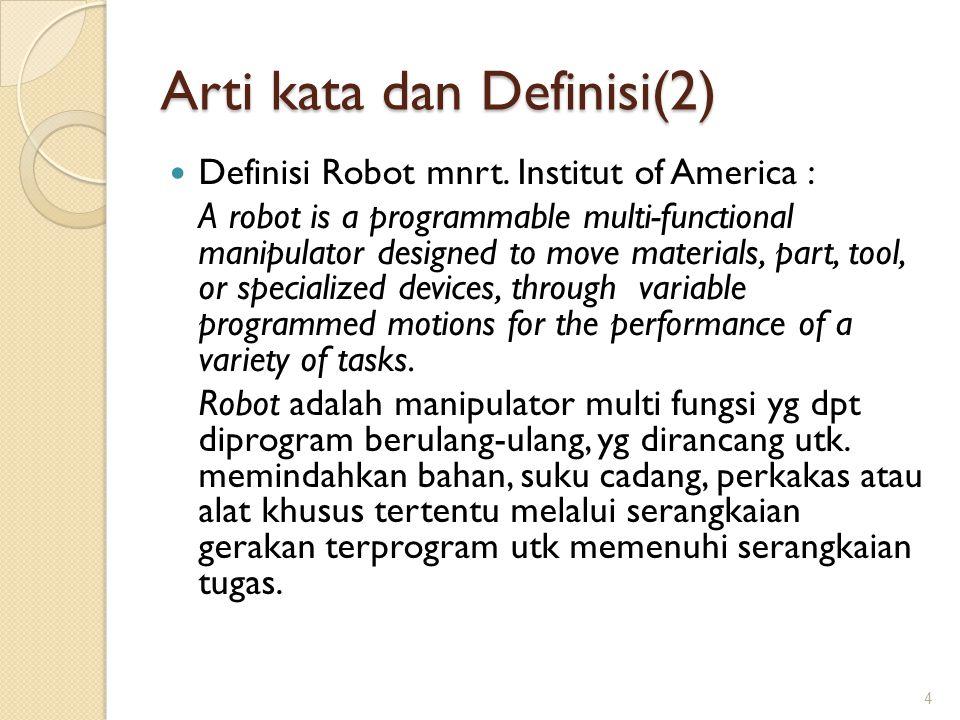 Arti kata dan Definisi(2)