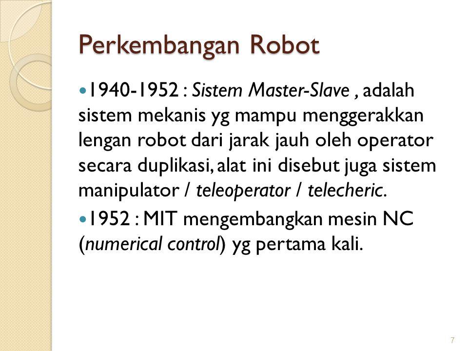 Perkembangan Robot