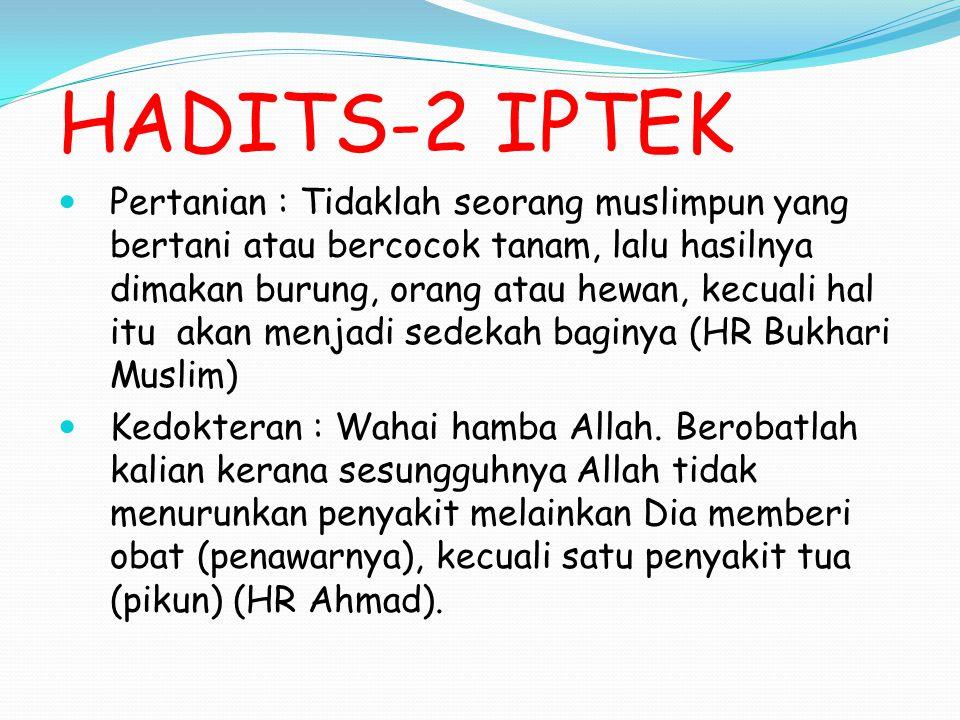 HADITS-2 IPTEK