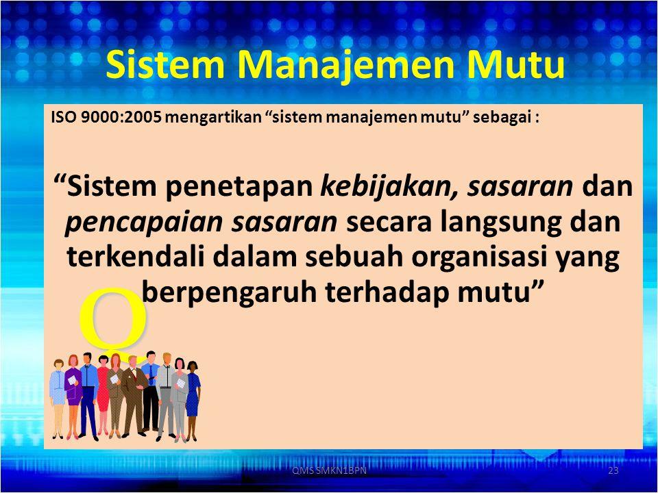Q Sistem Manajemen Mutu