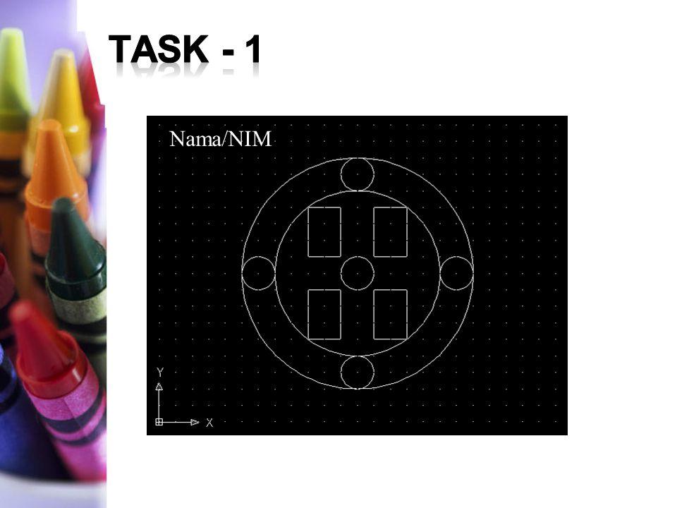 TASK - 1 Nama/NIM