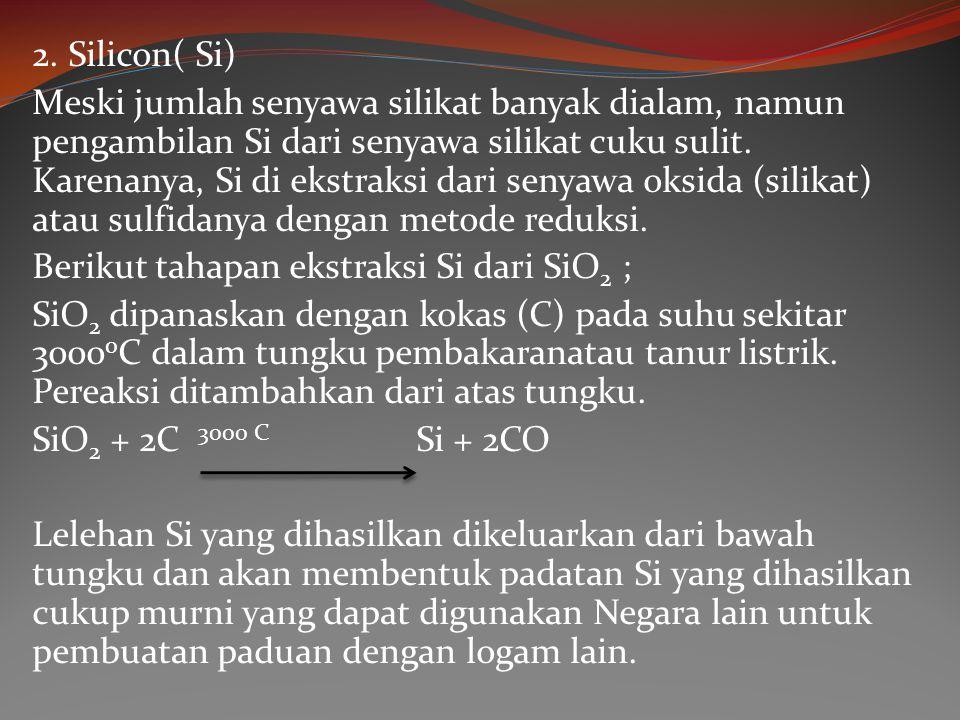 2. Silicon( Si)