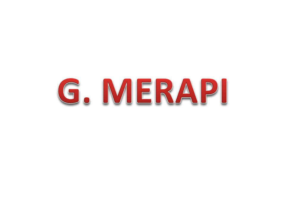 G. MERAPI