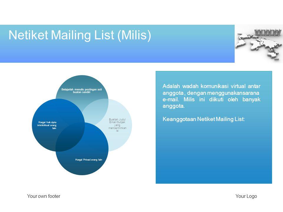 Netiket Mailing List (Milis)
