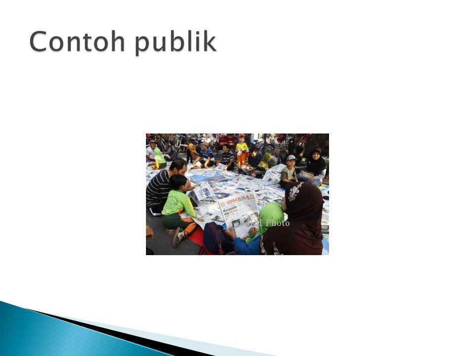 Contoh publik