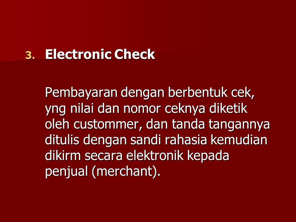 Electronic Check