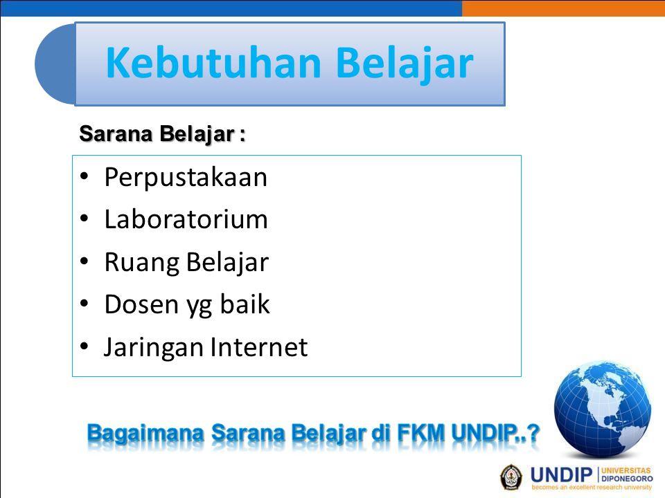 Bagaimana Sarana Belajar di FKM UNDIP..