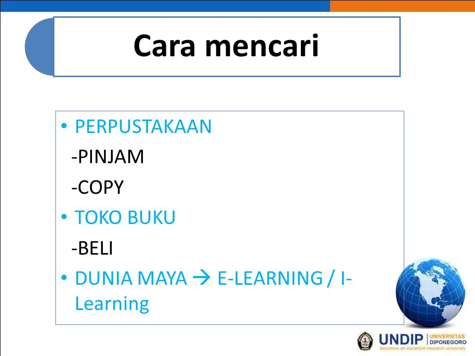 DUNIA MAYA  E-LEARNING / I-Learning