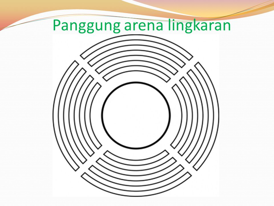 Panggung arena lingkaran