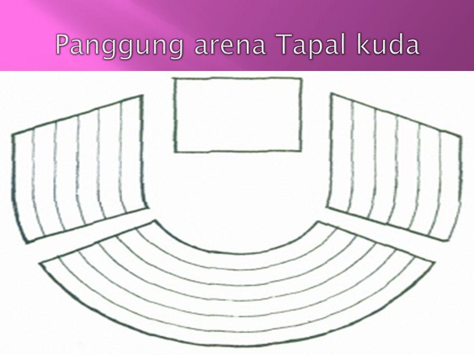 Panggung arena Tapal kuda