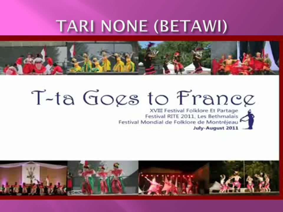 TARI NONE (BETAWI)