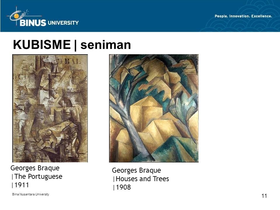 KUBISME | seniman Georges Braque Georges Braque |The Portuguese
