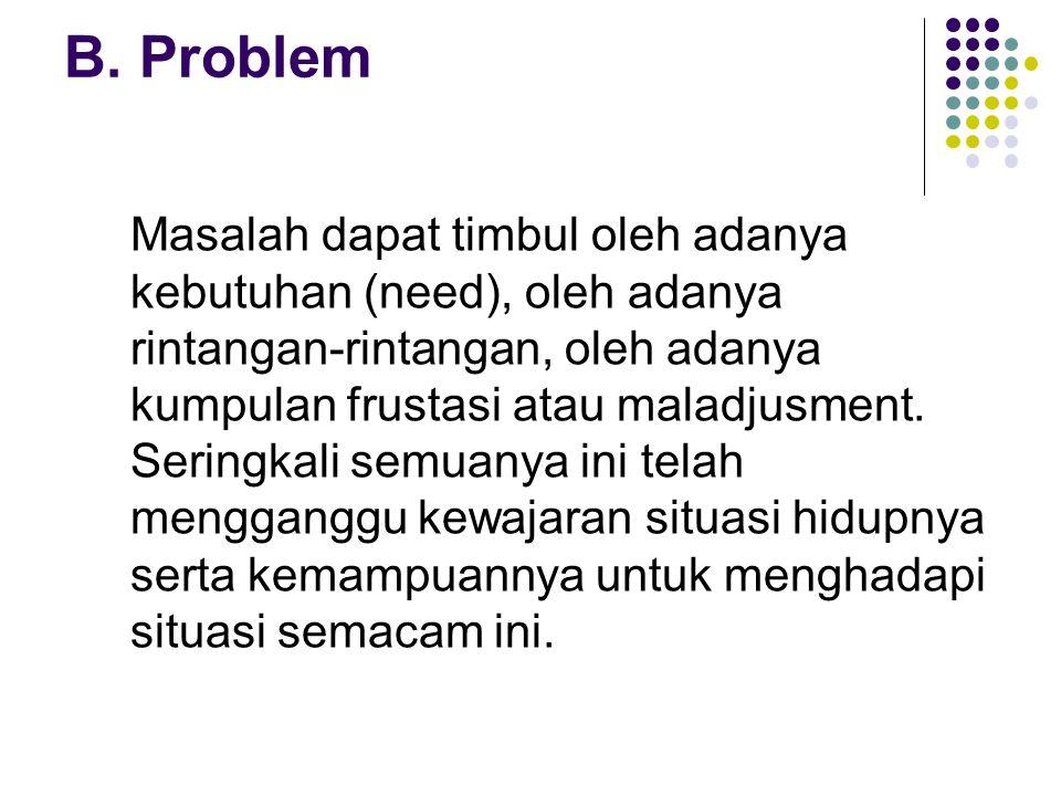 B. Problem