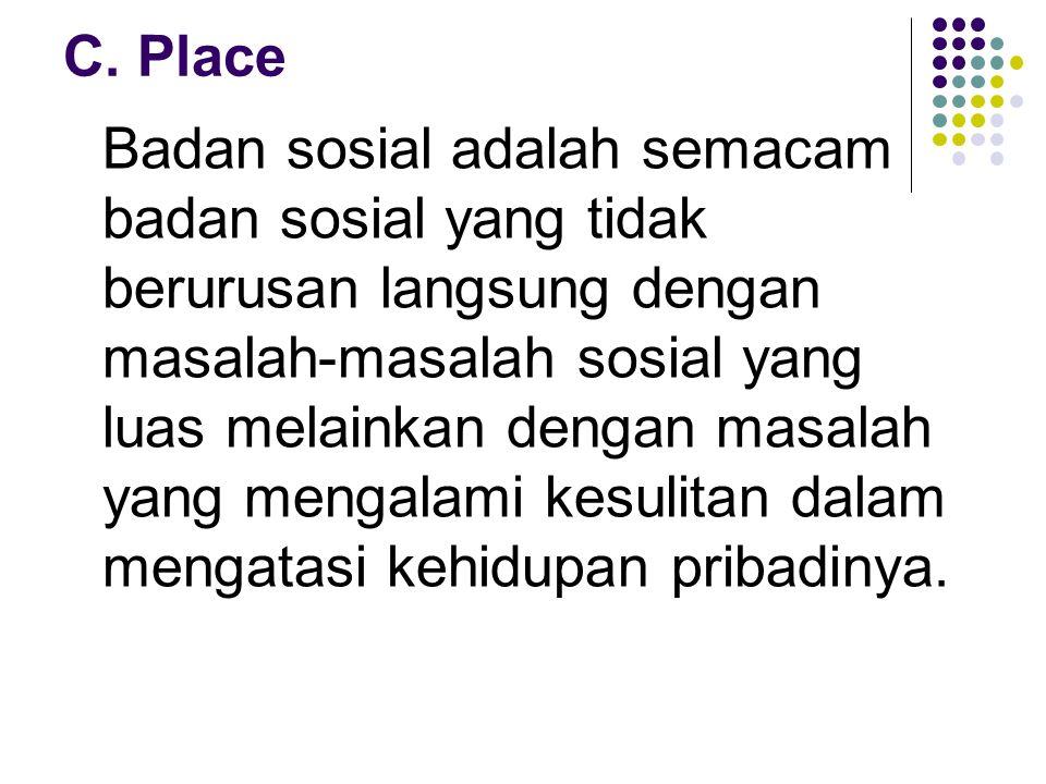 C. Place