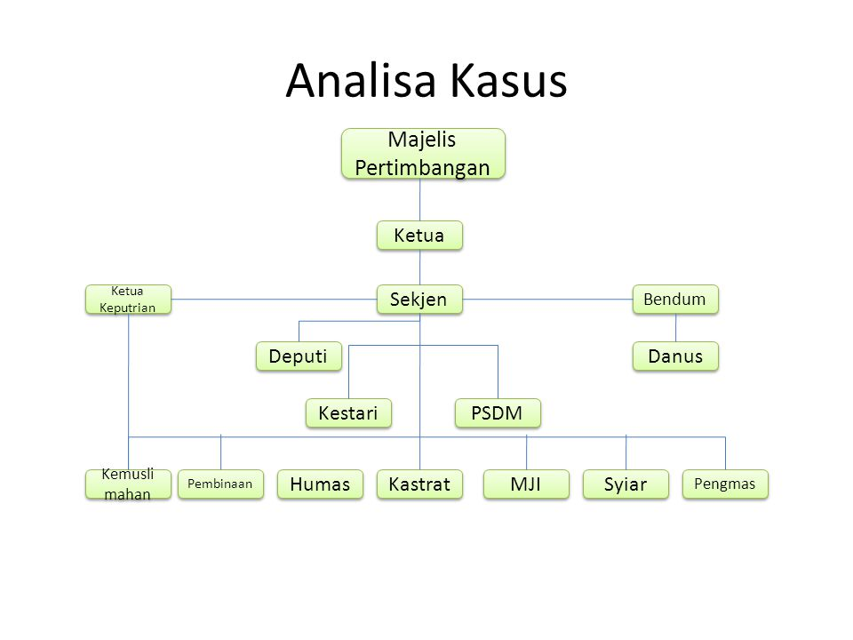 Analisa Kasus Majelis Pertimbangan Ketua Sekjen Deputi Danus Kestari