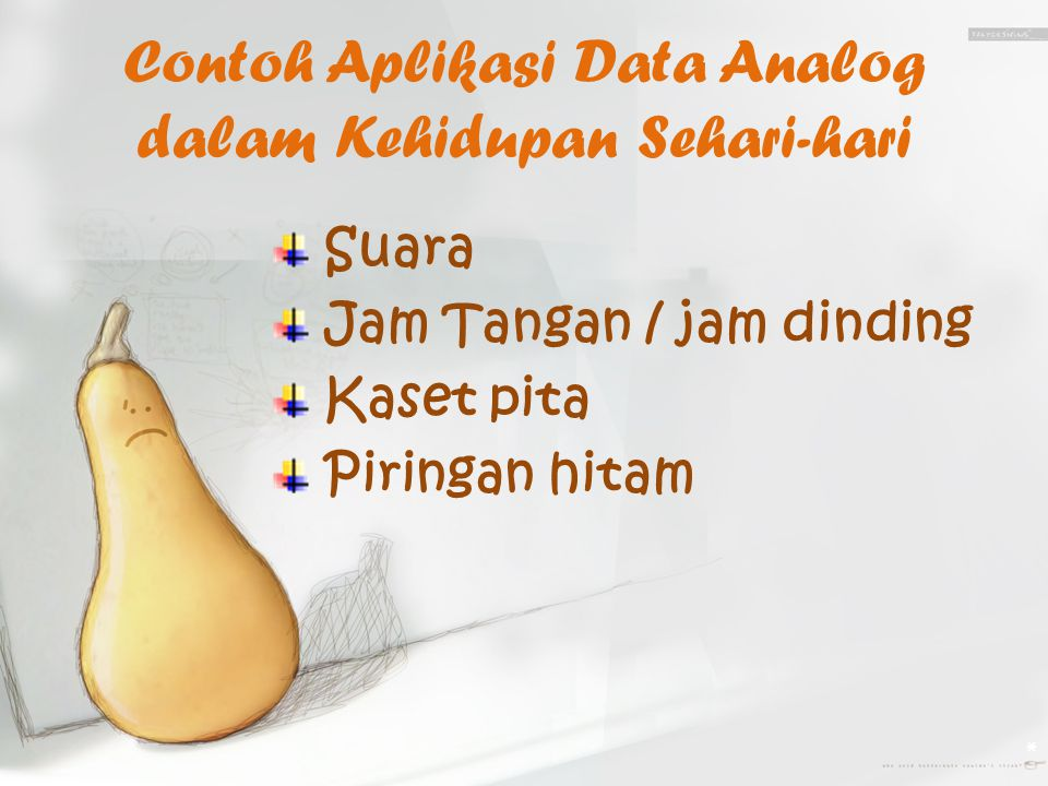 Contoh Aplikasi Data Analog dalam Kehidupan Sehari-hari