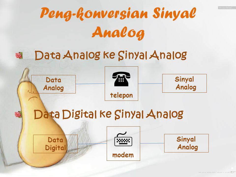 Peng-konversian Sinyal Analog