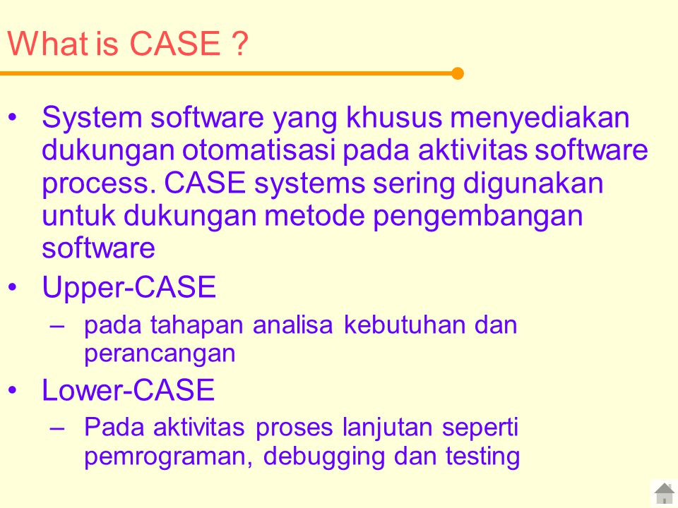 What is CASE