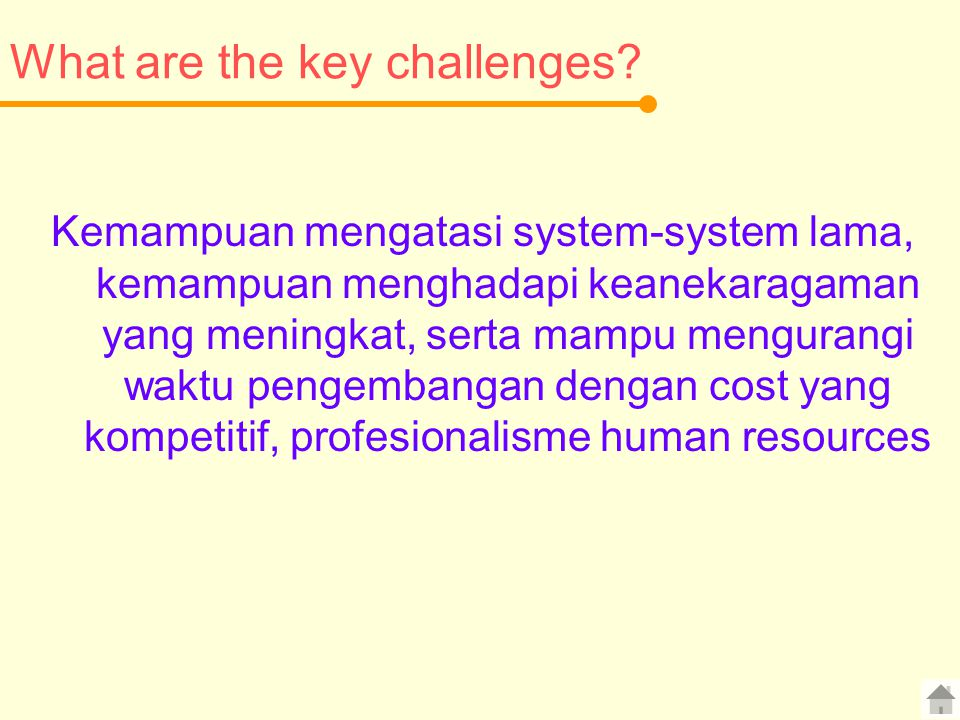 What are the key challenges
