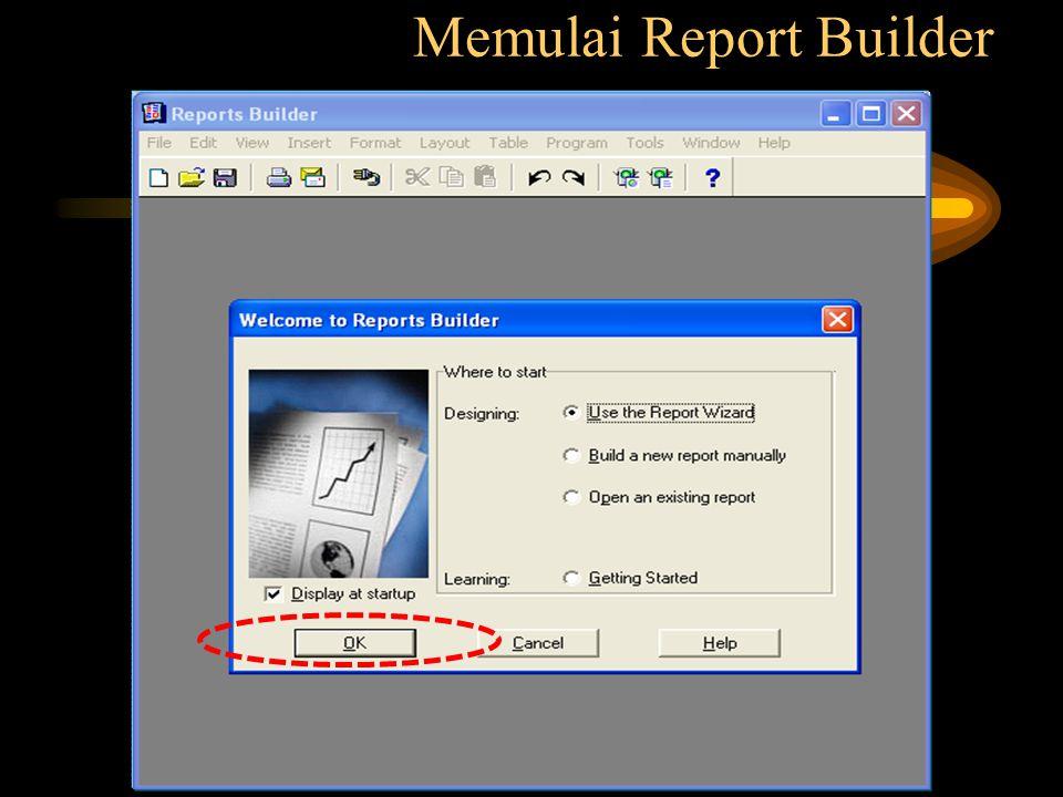 Memulai Report Builder