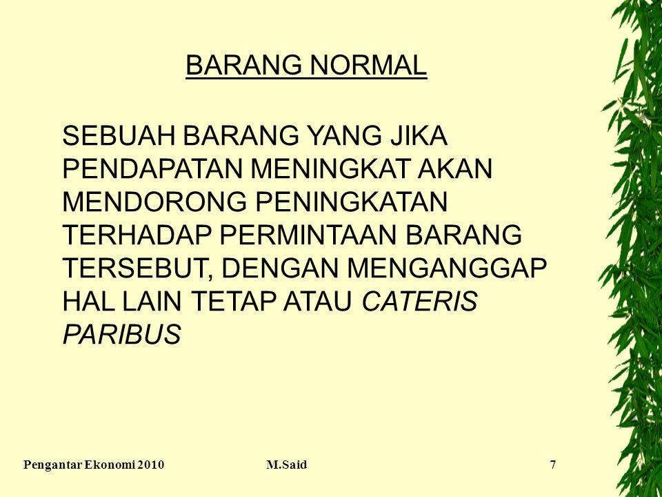 BARANG NORMAL