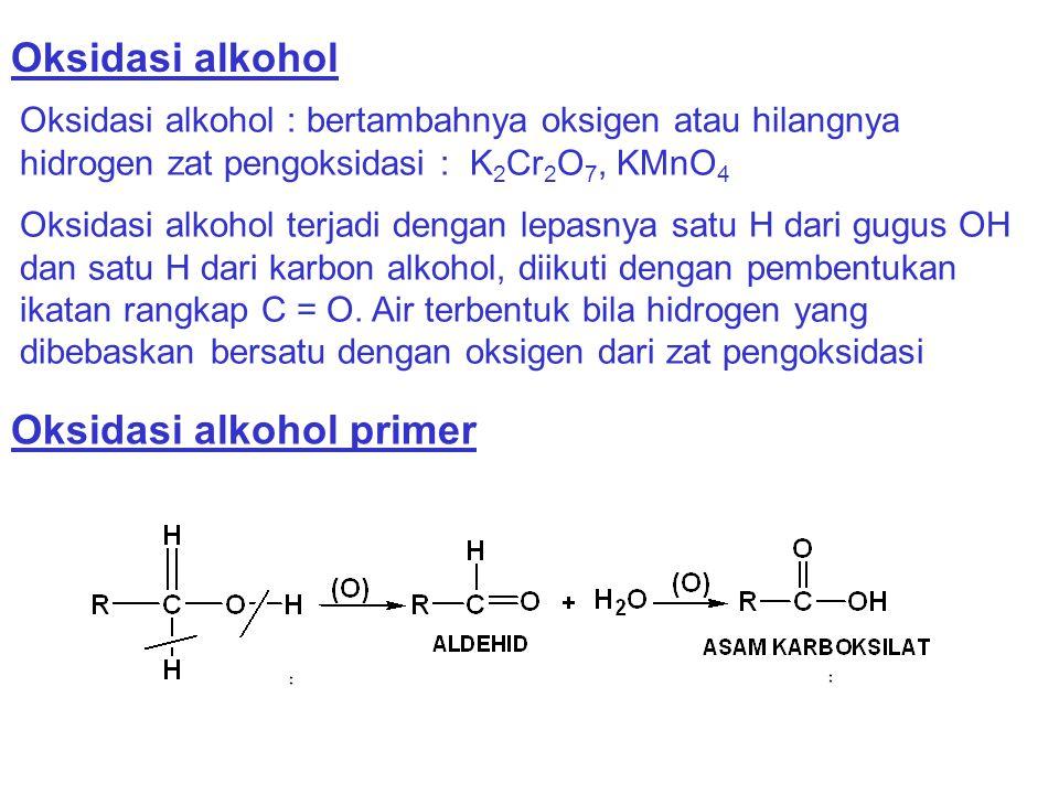 Oksidasi alkohol primer