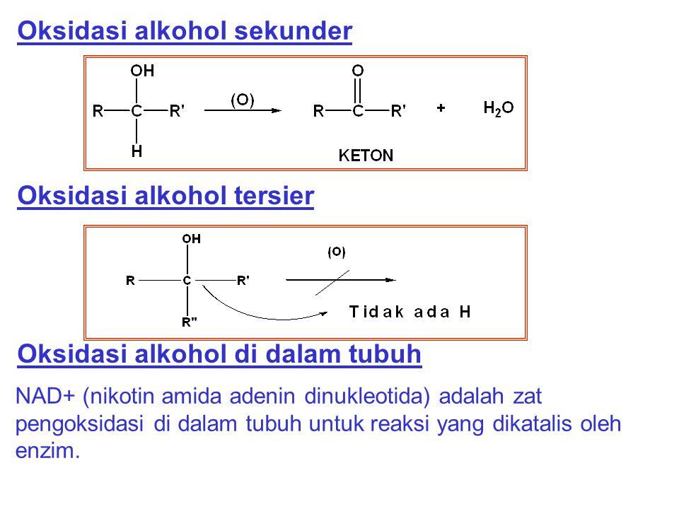 Oksidasi alkohol sekunder