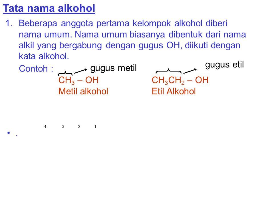 Tata nama alkohol