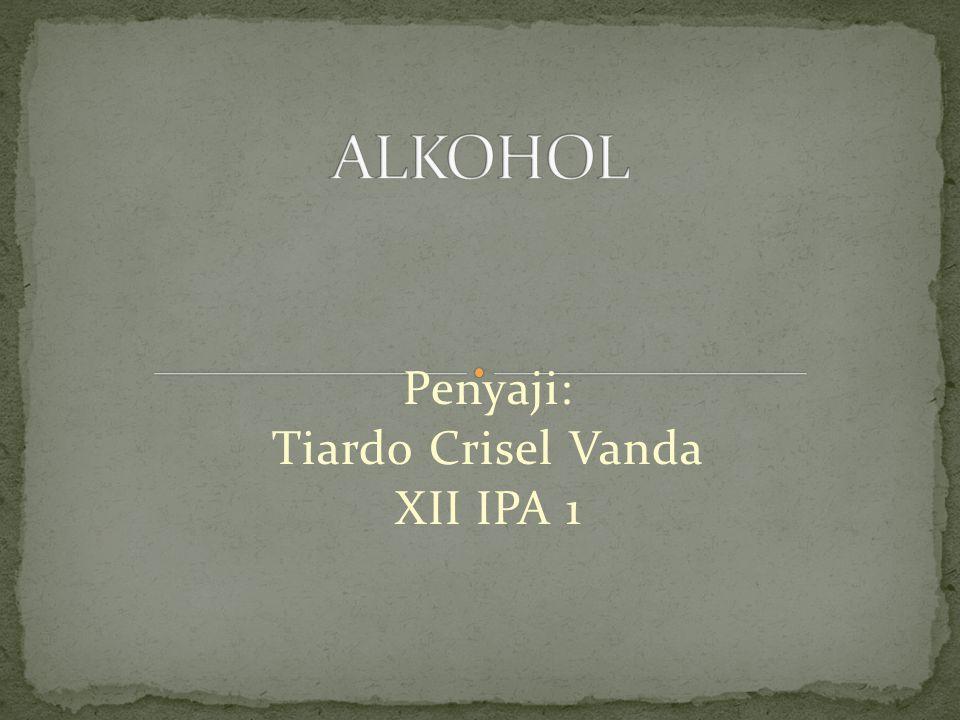 Penyaji: Tiardo Crisel Vanda XII IPA 1