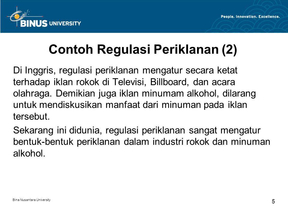 Contoh Regulasi Periklanan (2)