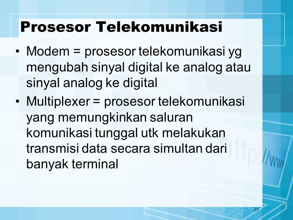 Prosesor Telekomunikasi