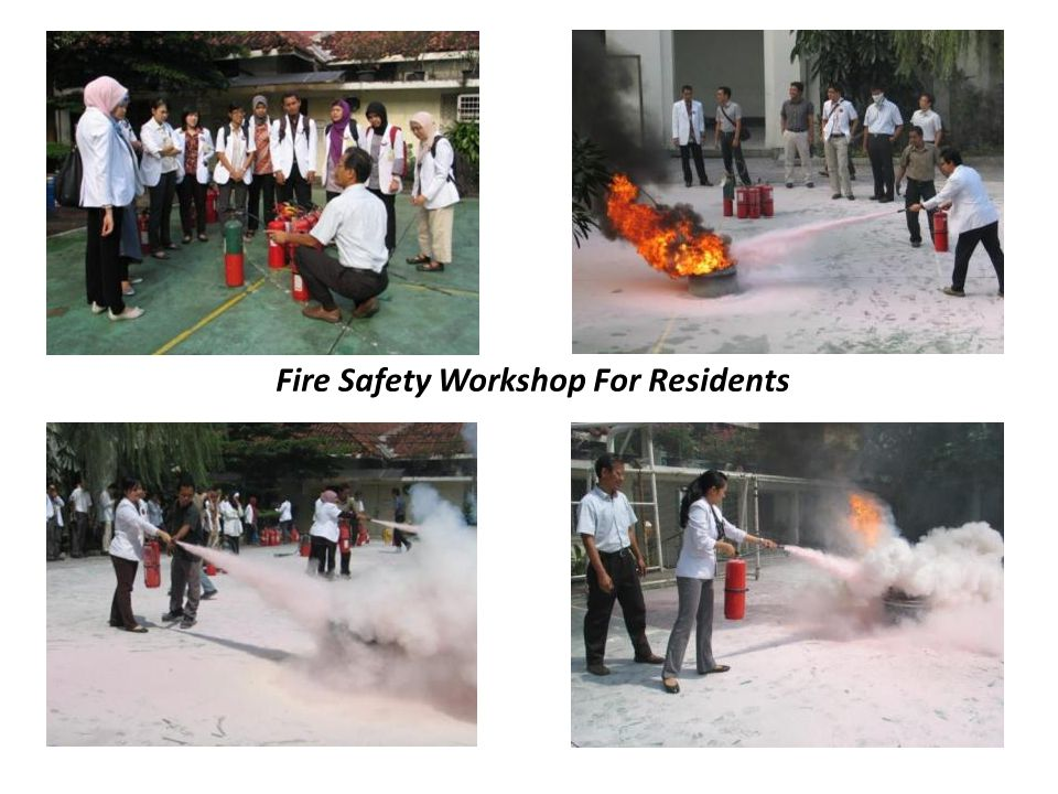 Fire Safety Workshop For Residents