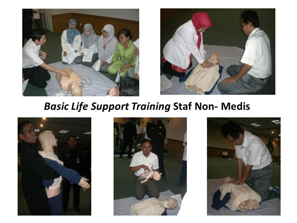 Basic Life Support Training Staf Non- Medis
